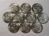 青岛收购流通纪念币,青岛专业回收分币八连体