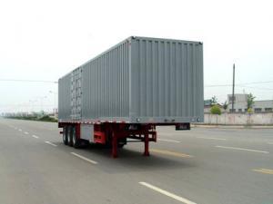 骏华车辆供应优质的平板式半挂车,下灰半挂车价格