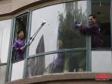 南京建邺区河西兴隆大街家政保洁公司家庭新装修保洁擦玻璃