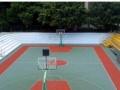 聚氧酯硅PU羽毛球场施工 北京塑胶跑道施工