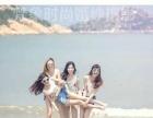 4人海边闺蜜照