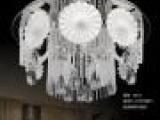 供应欧式现代水晶灯led客厅吸顶灯饰古镇卧室灯具批发a5810圆