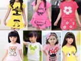 7.5元韩版童装批发 厂家直批 女童套裙 短袖裙子两件套