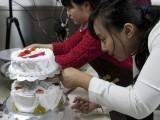 学生日蛋糕裱花面包安国 安国中西糕点学校 安国学糕点