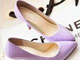 2014夏季新款韩版女鞋细跟性感尖头OL职业女高跟鞋单鞋厂家批发