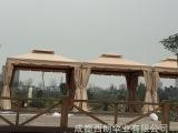 四川遮阳棚汽车帐篷罗马篷、铝合金四角遮阳