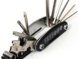 自行车修理工具组 内六角扳手 多功能组合工具