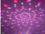 特价新款声控水晶魔球LED舞台灯光KTV