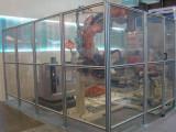 鋁型材圍欄-機器人防護圍欄-車間隔離網-鋁型材工作臺-蘇荷