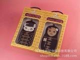 iPhone5娃娃手机壳 苹果5S俄罗斯娃娃链条手机保护套批发