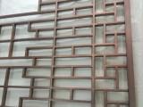 广西百色纳米喷涂红古铜不锈钢屏风来图定做红古铜屏风精巧无比