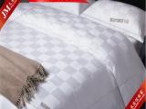 特价促销 宾馆酒店床上用品布草 全棉九方格贡缎小提花四件套