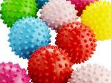 【伊诺特】3寸按摩球/2257 婴儿刺刺球/感官玩具球 宠物球批