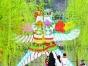 2017西安植树节植树+放风筝活动