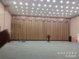 上海金山区办公楼遮阳窗帘定做 金山定做电动窗帘百叶帘公司