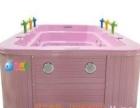 豪华配置4米卡通喷泉款亚克力一体儿童游泳池