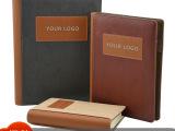 【厂家定制】进口PU高级商务本变色革拼接j笔记本本A5活页记事本