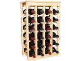公司创新设计实木高档葡萄酒产品陈列架 直销饮料陈列架