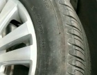 帕萨特领域顶配米其林轮胎轮毂8成新