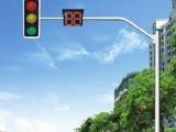 工厂供应直销热浸镀锌喷塑八角悬臂交通信号灯杆红绿灯杆