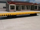 平板拖车厂家定做-平板拖车价格-20T厂区平板拖车