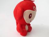 订做企业形象吉祥物 毛绒玩具 庆典礼品卡通猴子公仔 可加印LOG