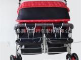 厂家热销新款儿童手推车高档婴儿手推车双胞胎手推车童车