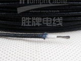 供应白色耐高温玻璃纤维1.0平方硅胶编织线环保纯铜耐高温灯具线