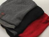 专柜正品2014冬季新款蓝牙羊毛针织围脖帽子两用日韩风时尚潮流帽