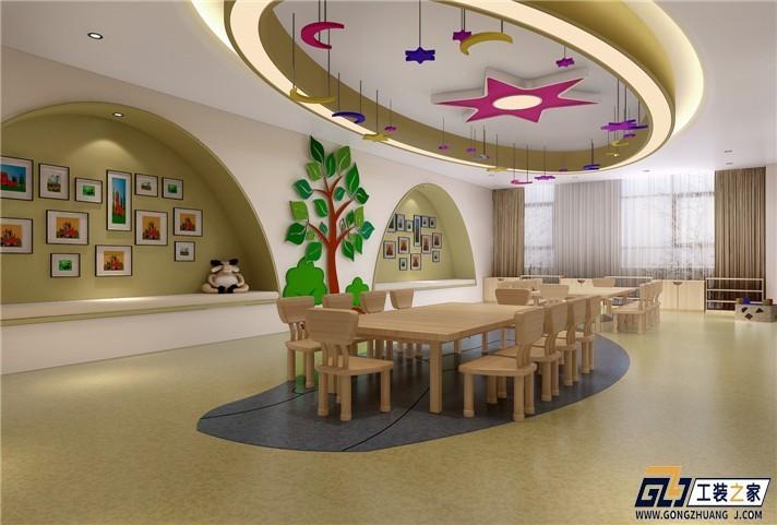 临潼幼儿园装修设计的理念