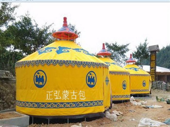 湖南有蒙古包厂