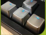 金色按键帽 机械金属键盘按键 最新发光键盘 银色金色按键帽