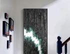 抽象大山 现代北欧风格装饰画书房卧室玄关背景墙壁挂画