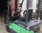 堆高托盘电动叉车 二手1吨蓄电池杭州电瓶叉车批发