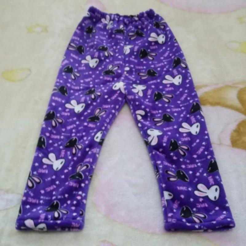 儿童秋冬外穿打底裤内穿加绒加厚保暖裤1-3岁女宝宝