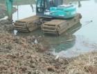 迪庆市德钦日本小松215水陆挖掘机出租商机无限