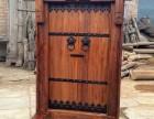 别墅庭院门 实木家装大门
