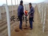 家用双人手提挖坑机 小型植树挖坑机