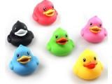 香港Semk创意B.Duck迷你浮水小鴨子 儿童洗澡玩具 浮水鸭