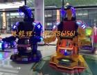 华秦游乐钢铁侠广场行走机器人