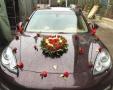 泉州婚车装饰布置婚庆花篮用花泉州鲜花花店订制