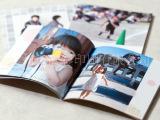 订做骑马钉画册 A4产品画册 图片纪念册 宣传单 折页彩色印刷