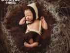 批发儿童摄影服装影楼专用奶棉毛线婴儿服饰