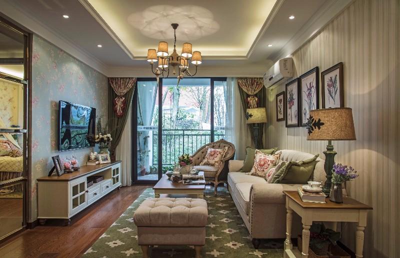 儋州亚大装饰--两居室--乡村田园--望海国际