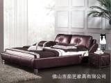 床,皮床,布床,真皮床,家具,卧室家具,