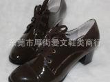 英伦风女鞋 粗跟厚底单鞋 系带单鞋 高跟单鞋 真皮单鞋