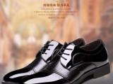 男士皮鞋 牛皮商务正装系带鞋 时尚英伦鞋子鳄鱼纹皮鞋