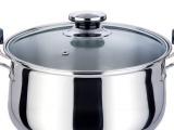 厂家直销 不锈弧形高汤锅 不锈钢汤锅 健康锅 奶锅批发