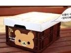 新款大号小熊伸缩储物箱