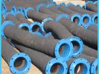 厂家直销定制低压大口径输水胶管 不锈钢波纹金属软管 夹布胶管